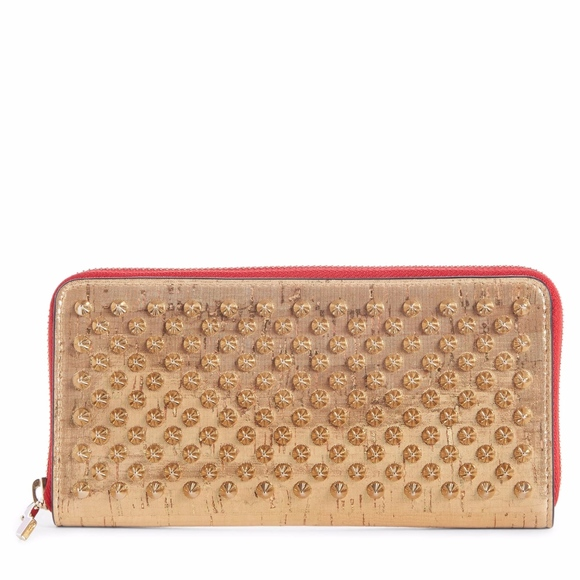 323bfc22cb Christian Louboutin Bags | Panettone Spiked Wallet | Poshmark